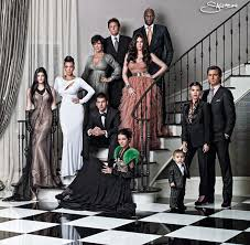 history of the kardashians u0027 christmas cards is a masterclass in