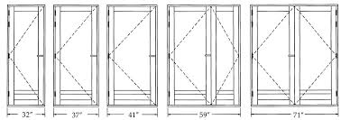 Sliding Patio Door Dimensions Exterior Door Sizes Exterior Doors Ideas