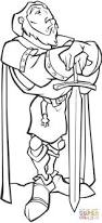cartoon knight coloring page free printable coloring pages