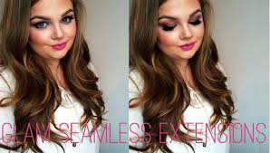 glam seamless hair extensions how to apply glam seamless extensions electronicssupplier