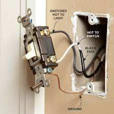 replacing old light switches old light switch box wiring wiring diagram