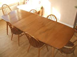 Ercol Dining Room Furniture Ercol Grand Windsor Extending Dining Table Plus Ercol 6 Chairs