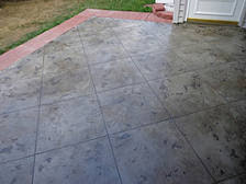 Cement Patio Sealer How To Polish Concrete Floor