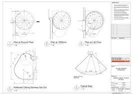 spiral staircase plan details staircase gallery