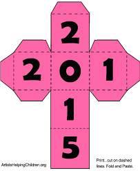 how to make a new years cube dice time capsule to celebrate the