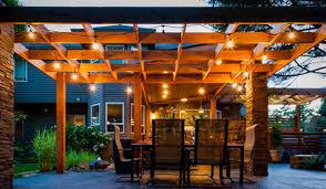Pergola Canopy Ideas by Five Pergola Lighting Ideas To Illuminate Your Outdoor Space