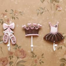 Decorative Coat And Hat Hooks Aliexpress Com Buy Ballet Shoes Princess Dress Crown Clothes