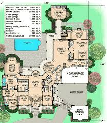 Luxury Estate Home Plans Plan 36323tx Estate Home Plan With Cabana Room Luxury Houses
