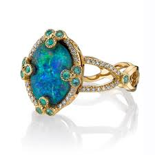 black opal engagement rings opal and paraiba ring mccaskill company destin fl