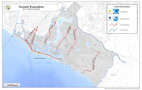 Oregon Tsunami Map by Tsunamiready Guidelines For Mitigation Preparedness And Response