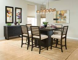 espresso dining room sets dining room counter height kitchen table sets counter height