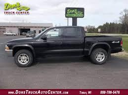 used dodge dakota 4x4 2003 dodge dakota cab slt at dons auto truck center 608 372 6435