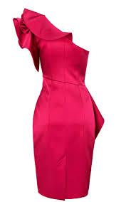 karen millen red dress karen millen satin ruffle dress pink karen