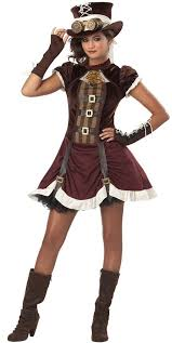 Halloween Costumes Girls Amazon Amazon California Costumes Steampunk Tween Costume