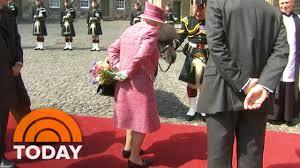 queen elizabeth naughty pony try to eat queen u0027s flowers today