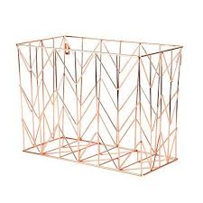 File Desk Organizer U Brands Hanging File Desk Organizer Wire Metal Copper