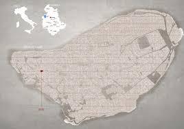 Orvieto Italy Map by D J Sturrock Cv