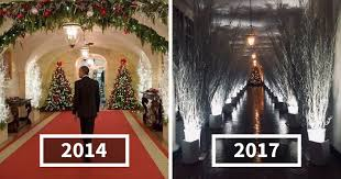 pictures of christmas decorations in homes 30 hilarious reactions to melania trump s creepy white house