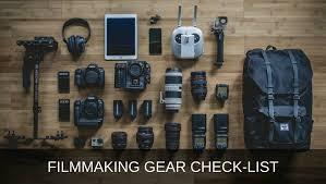 light equipment operator job description video production equipment and filmmaking gear check list