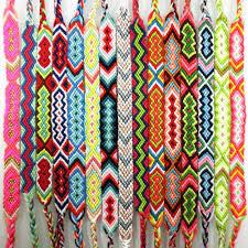 string friendship bracelet images Amiu handmade bracelet custom cotton wrap popular woven rope jpg