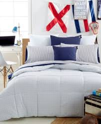 Colored Down Alternative Comforter Closeout Tommy Hilfiger Home Geo Print Color Down Alternative