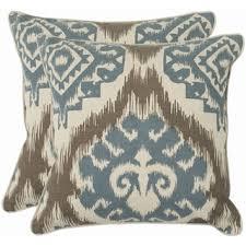Royal Blue Throw Pillow Covers Calm Blue Decorative Pillows