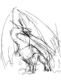 dragon sketches u2013 k m carroll author