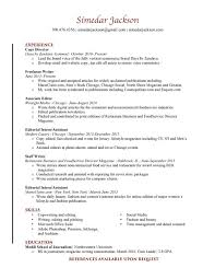 Director Of Ecommerce Resume Resume U2014 Simedar Jackson