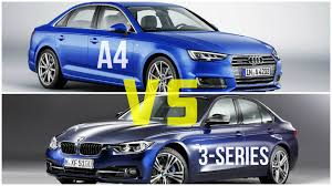 audi a3 vs bmw 3 series 2016 audi a4 vs bmw 3 series