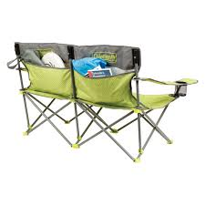 Coleman Reclining Camp Chair Coleman Quattro Lax Double Quad Chair Hayneedle