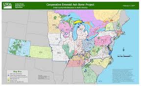 Map Of Iowa Counties Emerald Ash Borer Confirmed In Black Hawk County Iowa