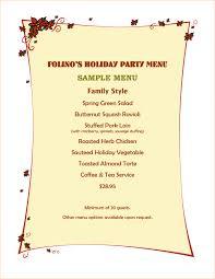 service menu template menu menu template