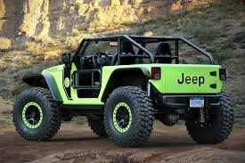 green jeep rubicon 2017 jeep wrangler trailcat concept hiconsumption