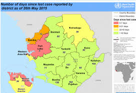 Un Map Map Of The Day Can Sierra Leone Kick Ebola Un Dispatch