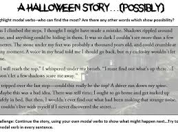 modal verbs worksheets halloween themed by madeleine faye