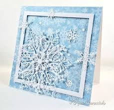 321 best cards snowflakes snowmen images on