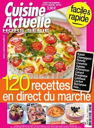hors s駻ie cuisine actuelle subscription cuisine actuelle hs magazine cooking of cuisine