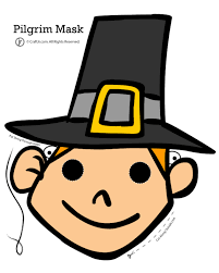 Thanksgiving Activity Sheets Printable Free Thanksgiving Pilgrim Mask Thanksgiving Kids Printables