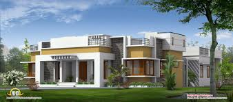 single level designer home floor house plans design with