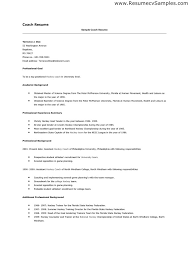 Career Coach Resume Sample by Head Coach Cover Letter Docoments Ojazlink
