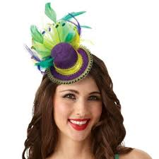 mardi gras headband mardi gras top hat feathered headband party city mardi gras