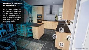 cuisine virtuelle ikea fait visiter ses cuisines en réalité virtuelle