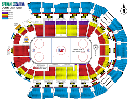 spokane chiefs spokane arena saturday november 25 10 35