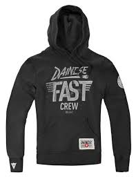 dainese hoodie fast crew buy and offers on motardinn