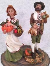 thanksgiving pilgrim figurines 10 inch thanksgiving pilgrims ebay