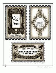 printable halloween specimen jar labels 46 best halloween labels and halloween label printables images on