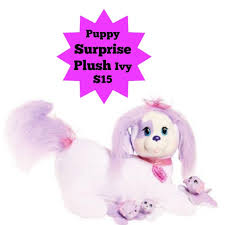 black friday dog toys black friday prices now puppy surprise plush ivy only 15