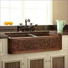 Kitchen Sink Undermount Single Bowl - hammered copper kitchen sink undermount single bowl apron bronze