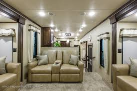 5th Wheel Living Room Up Front by Luxury 5th Wheel Front Living Room Kitchen Island Living Room