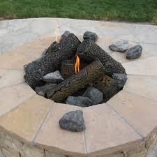 Firepit Logs Timbercraft Metal Premium Steel Pit Gas Logs 29